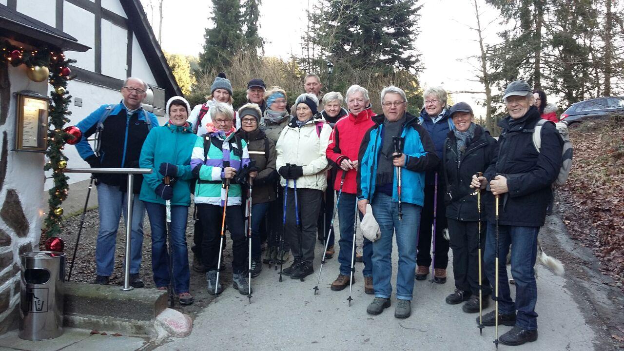 1. Wandertag 2018 Skiabteilung Gruppenfoto